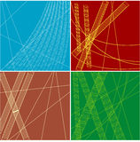 Abstract colorful backgrounds. A set of modern abstract backgrounds Stock Image