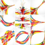 Abstract colorful backgrounds. Illustration for your design Stock Photos