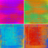 Abstract colorful backgrounds. Set of abstract colorful backgrounds, illustration Stock Image