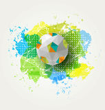 Abstract colorful ball Stock Photography