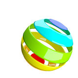 Abstract colorful ball Royalty Free Stock Photography