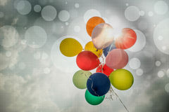 Abstract Colorful Balloons Royalty Free Stock Images