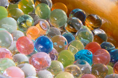 Abstract colorful balls. With reflections as fantastic texture Royalty Free Stock Image