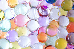 Abstract colorful balls. With reflections as fantastic texture Royalty Free Stock Images