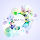 Abstract colorful banner Stock Image