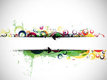 Abstract colorful banner background Royalty Free Stock Photography
