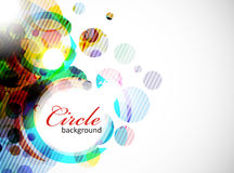 Abstract colorful banner background Royalty Free Stock Photos