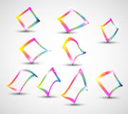 Abstract colorful banner concept Stock Image
