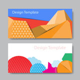 Abstract colorful banner design Royalty Free Stock Image