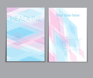 Abstract colorful banner design Stock Photo