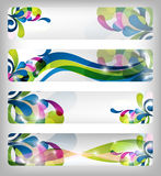 Abstract colorful banner / designs Royalty Free Stock Image