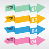 Abstract Colorful Banner. Abstract Colorful Banner Vector.EPS10 Royalty Free Stock Image