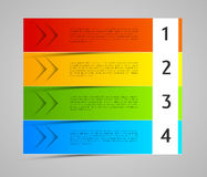 Abstract colorful banners, tags, labels Royalty Free Stock Image