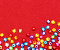 Abstract Colorful beads Royalty Free Stock Photos