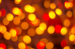 Abstract colorful big background with bokeh lights Stock Images