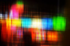 Abstract Colorful blur lights Royalty Free Stock Photos