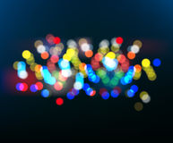 Abstract colorful blurred background. Stock Photography