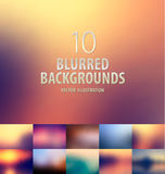 Abstract colorful blurred background Stock Photo