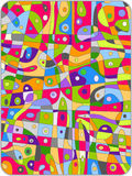 Abstract colorful board Royalty Free Stock Photography