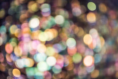 Abstract colorful bokeh Royalty Free Stock Image