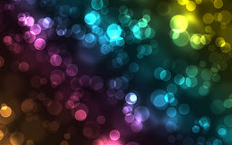 Abstract colorful bokeh background. A colorful abstract bokeh image for background use Royalty Free Stock Images