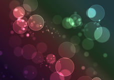 Abstract colorful bokeh background Royalty Free Stock Photos