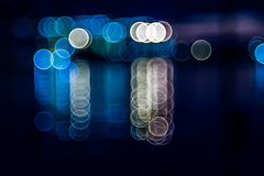 Abstract colorful bokeh background Stock Photos