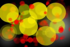 Abstract colorful bokeh background Stock Photography