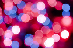 Abstract colorful bokeh background - defocused pic stock images