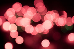 Abstract colorful bokeh background - defocused pic Royalty Free Stock Photos