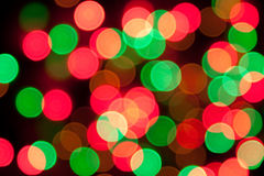Abstract colorful bokeh background - defocused pic stock photos