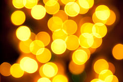 Abstract colorful bokeh background - defocused pic Stock Photo