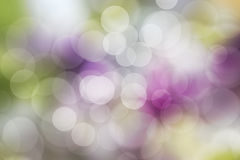 Abstract colorful and bokeh background, Spring garden. Stock Photos
