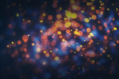 Abstract colorful bokeh lights background.  Stock Illustration