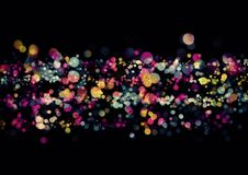 Abstract colorful bokeh wallpaper Royalty Free Stock Photo