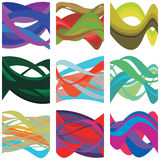 Abstract Colorful Brain Waves. An abstract illustration of brain waves Royalty Free Stock Photos