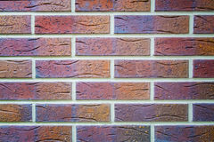 Abstract Colorful brick wall texture background Stock Photos
