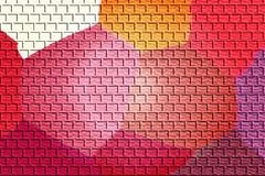 Abstract colorful bricks Royalty Free Stock Photography