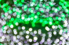 Abstract colorful bright bokeh background of Christmaslight Stock Image