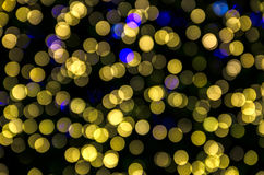 Abstract colorful bright bokeh background of Christmaslight Stock Photos
