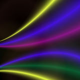 Abstract colorful bright  wave design. Stock Photos