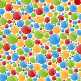Abstract colorful bubble background Stock Photos