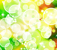 Abstract colorful bubble shape background Royalty Free Stock Photos