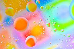 Abstract  colorful bubbles Royalty Free Stock Image
