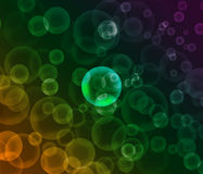 Abstract colorful bubbles background. Abstract blur colorful bubbles background Royalty Free Stock Photography