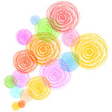 Abstract colorful bubbles background vector illustration