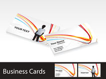 Abstract colorful business cards template Stock Photo