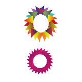 Abstract colorful business circle logo template. Abstract circle logo template for business use Stock Images