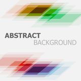 Abstract colorful business straight lines background Stock Images