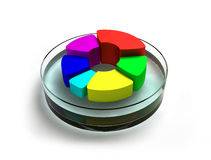 Abstract colorful button Stock Photo